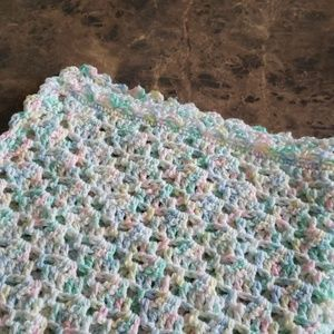 Other - Crocheted baby blanket